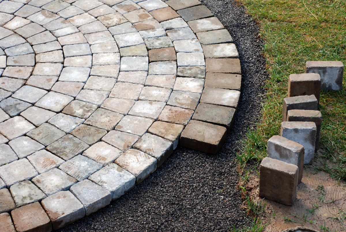Project portfolio palughi landscape services for Hardscape concrete